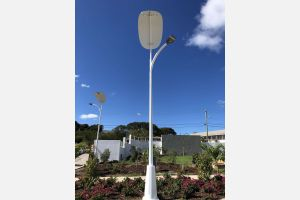 Making solar panels and lamps for the location of the Caribbean